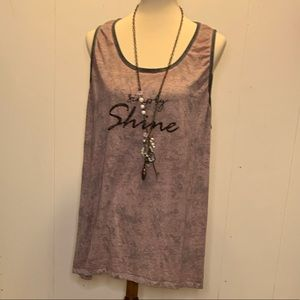 Maurice's sleeveless top size 3 plus size